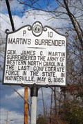 Image for Martin'sSurrender