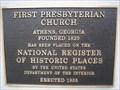 Image for First Presbyterian Church - Athens, GA