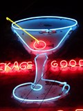 Image for Santana Bar - Artistic Neon - Williams, Arizona, USA.