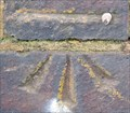 Image for Cut Bench Mark - Anerley Road, London, UK