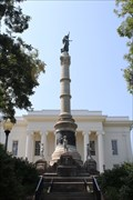 Image for The Confederate Monument -- AL State Capitol grounds, Montgomery AL