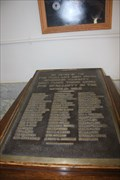 Image for WWI Memorial Plaque -- Rosebud Co. Courthouse, Forsyth MT