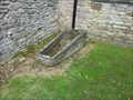 Image for Stone coffin, Holy Trinity, Much Wenlock, Shropshire, England