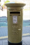Image for Geraint Thomas - Gold Post Box - Cardiff, Wales.