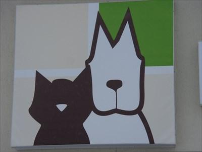 Logo du local Vétérinaire, ici.