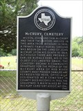 Image for McCrury Cemetery