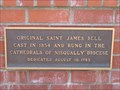 Image for FIRST - Saint James Church Bell cast in 1854, Vancouver, Washington Territory