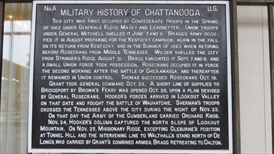 veritas vita visited Military History of Chattanooga
