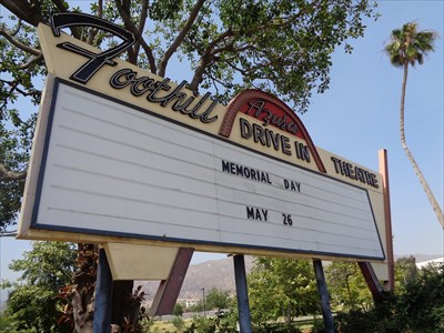 veritas vita visited Foothill - Azusa Drive In Theatre - California, USA.