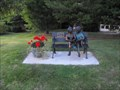 """Image for """"Keep a Story in Your Heart"""" Sit-by-me Statue - Escanaba, MI"""