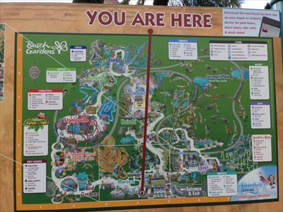 Morocco Busch Gardens Tampa Florida Usa 39 You Are Here 39 Maps On