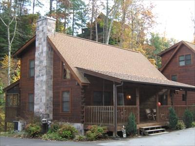 Eagles ridge resort pigeon forge tn chalet cottage for Eagles ridge log cabin