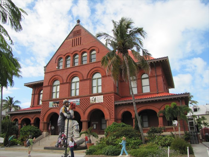 Old post office customs house key west fl image for Classic house keys