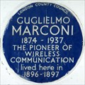 Image for Guglielmo Marconi - Hereford Road, London, UK