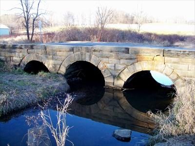 Old Triple Arch Stone Bridge - #2