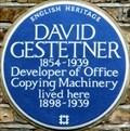 Image for David Gestetner - Highbury New Park, London, UK