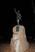 "Image for ""Over the Top"" WWI Memorial -- Llano TX"