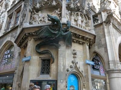Dragon - City Hall München, Germany, BY