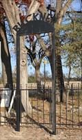 Image for Buckner Cemetery Arch -- McKinney TX