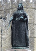 Image for Queen Victoria Statue - Satellite Oddity - Windsor, Great Britain.