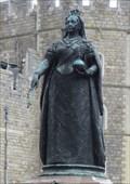 Image for Queen Victoria Statue - Satellite Oddity - Windsor, Great Britain.