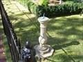 Image for Jordan House Sundial - Birmingam, AL