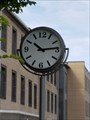 Image for Town Clock Kreissparkasse Mayen, Rhineland-Palatinate, Germany