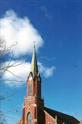 Image for St Peter Catholic Church Steeple - Jefferson City, MO