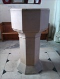 Image for Baptism Font, St Mary - Shotley, Suffolk