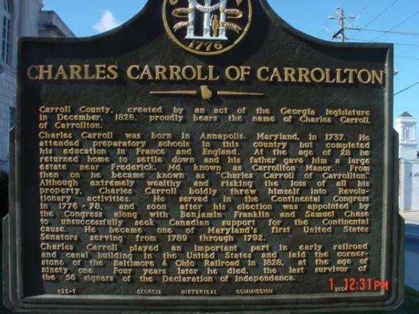 Charles Carroll of Carrollton - GHM 022-1