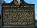 Image for Charles Carroll of Carrollton - GHM 022-1 - Carroll Co., GA