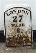 Image for Milestone - High Street, Puckridge, Hertfordshire, UK.