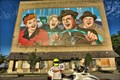 Image for World's Largest I Love Lucy Mural - Jamestown NY