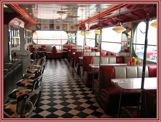 S style diner game environment
