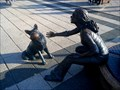 Image for Girl with her dog, Budapest, Vigadó square
