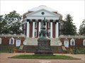 Image for Thomas Jefferson - North side of Rotunda - Charlottesville, VA
