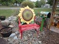 Image for Sunflower Bench - Story Garden, Binghamton, NY