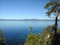 Image for Lake Tahoe overlook - NV Hwy. 28