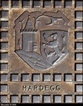 Image for Hardegg CoA on manhole covers - Hardegg (Waldviertel, Niederösterreich)