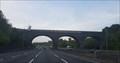 Image for ONLY - Edwardian brick bridge on the M25 - Gerrards Cross - Buckinghamshire, UK