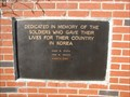 Image for Gentry County Korean War Memorial - Albany, Missouri