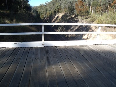 Coopernook wooden bridge
