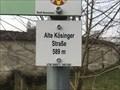 Image for Höhenmarke Alter Kösinger Straße, Neresheim 589 Meter