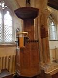 Image for Pulpit - All Saints - Rampton, Cambridgeshire, UK