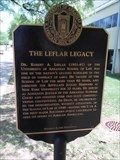 Image for The Leflar Legacy - University of Arkansas - Fayetteville AR