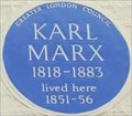 Image for Karl Marx - Dean Street, London, UK