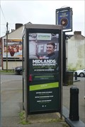 Image for Whieldon Road Payphone - Mount Pleasant, Stoke-on-Trent, Staffordshire.