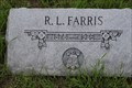 Image for R. L. Farris  -- Woods Prairie Cemetery, West Point TX