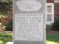 Image for Everett C. Ryker Memorial - Linden, IN