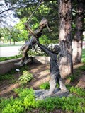 Image for Boy Pushing Girl On Swing - Ogden, Utah